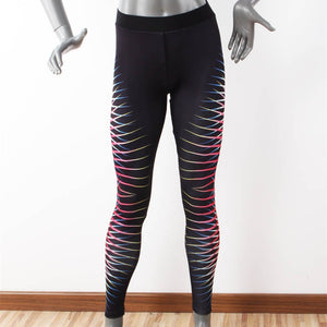 Women's Printed Stretch Sport Leggings