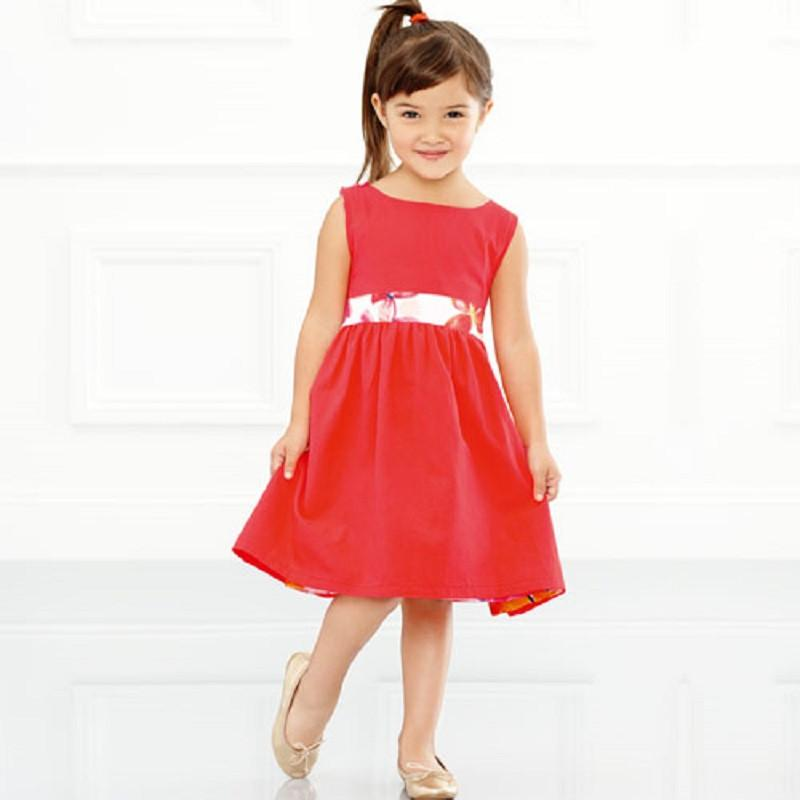2-in-1 Girls' Reversible Dress - KVGP Clothescessories