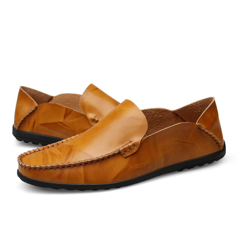 Men's Designer Genuine Leather Casual Loafer Shoes
