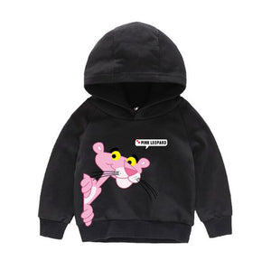 Girls Pink Panther Long Sleeves Hoodie Top