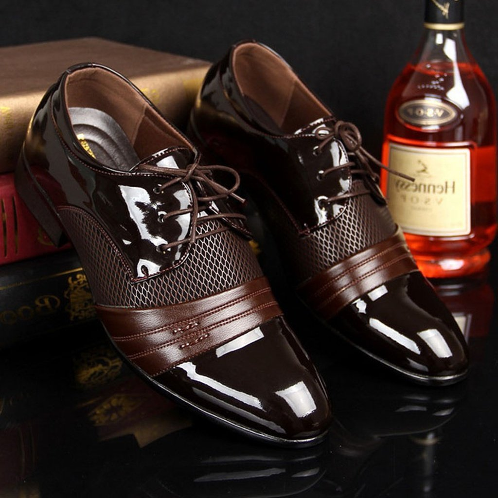 British Men's Fashion Comfortable Business Dress Shoes