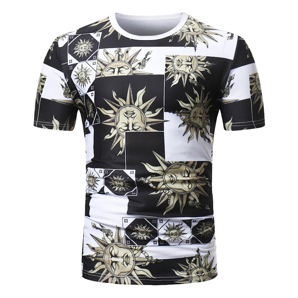Greek Sun God Printed Top