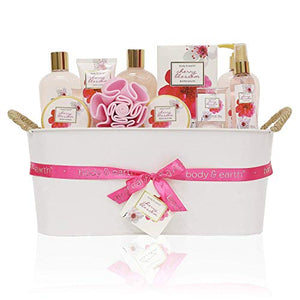 Body and Earth Luxurious Spa Bath Gift Set for Her