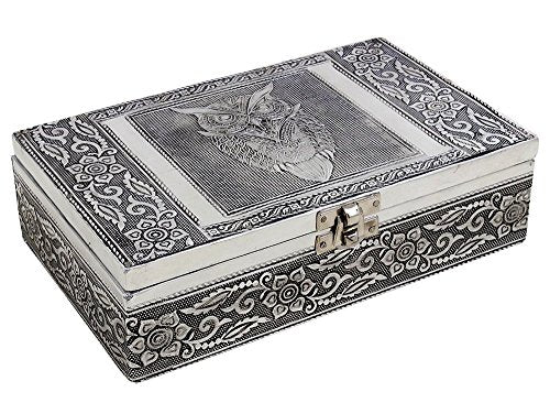 Antique Style Keepsake Trinket Jewellery Storage Box