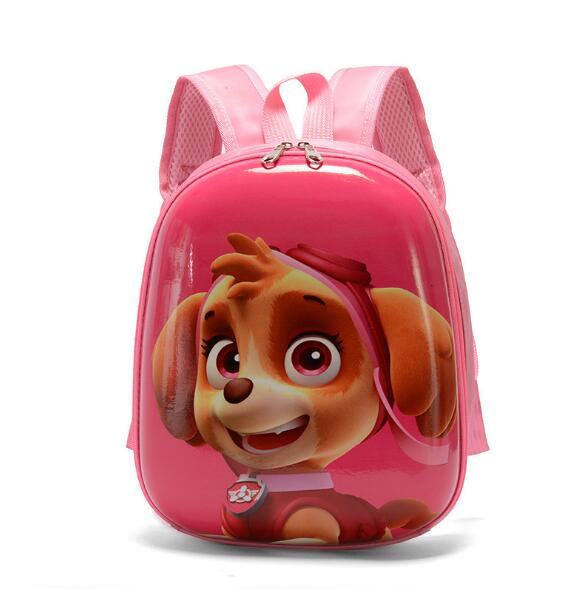 3D Kids Puppy Cartoon School Backpack