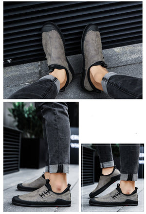 Handmade Mens High Quality Genuine Leather Loafer Shoes