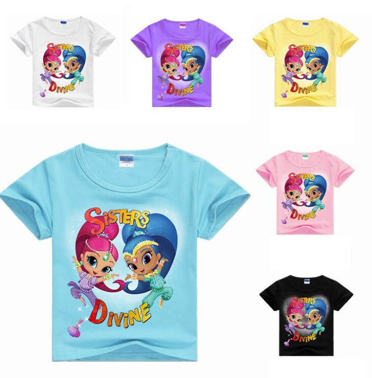 Girls Casual Cotton T-Shirt