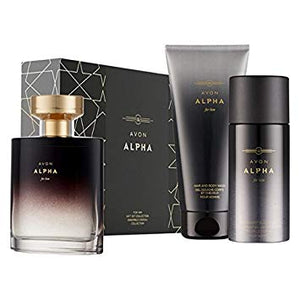Alpha for Him Eau de Toilette Gift Set