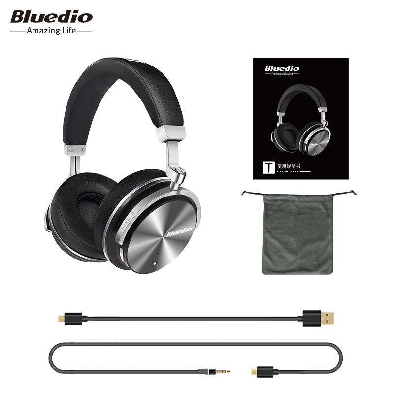 Bluedio T4S Wireless Bluetooth Headphones with Microphone