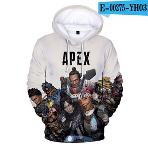 3D Apex Legends Casual Men's Hoodie Sweatshirt