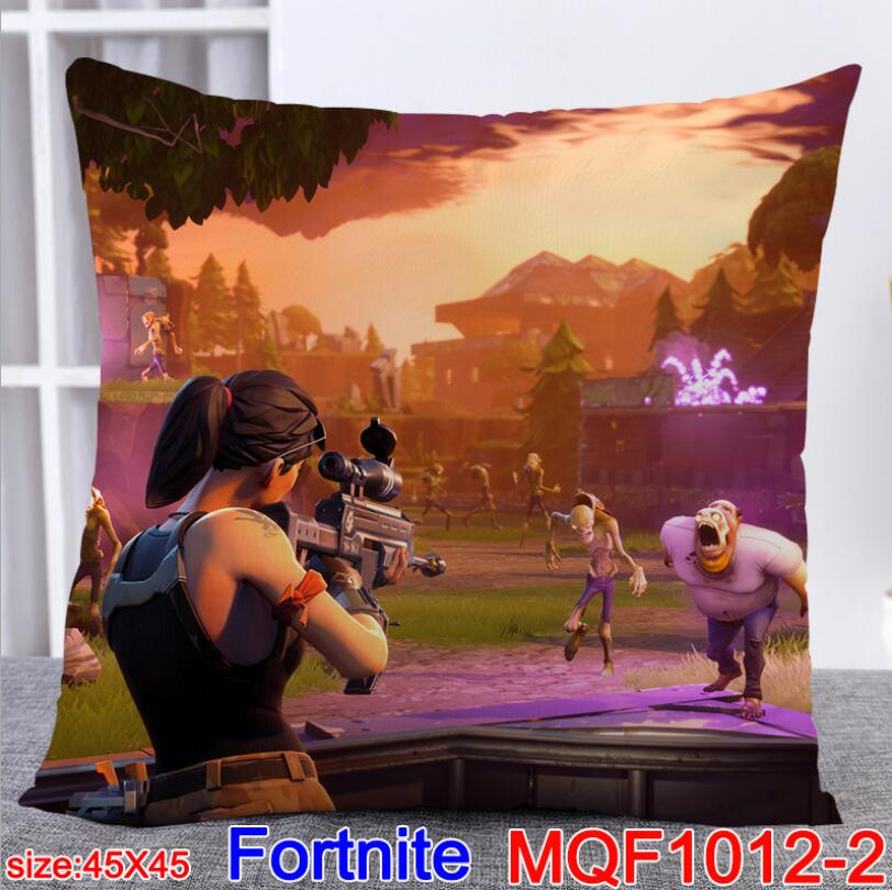 Fortnite Game Cartoon Cushion Linen Cover