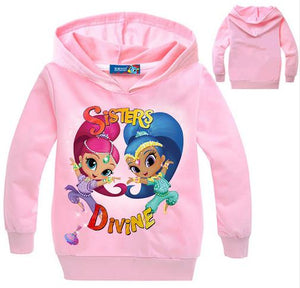 Girls Casual Long Sleeve Hoodie Sweatshirt