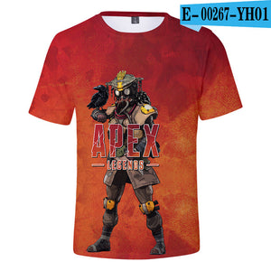 3D Apex Legends Unisex Casual T-Shirt