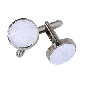 Passion Woven Microfibre Cufflinks for Him