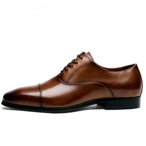 Men's Luxury Genuine Leather Formal Oxford Dress Shoes