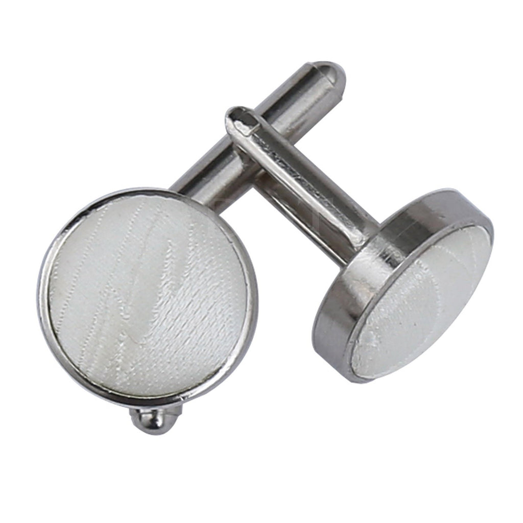Passion Woven Microfibre Cufflinks for Him - Scarlet Bloom