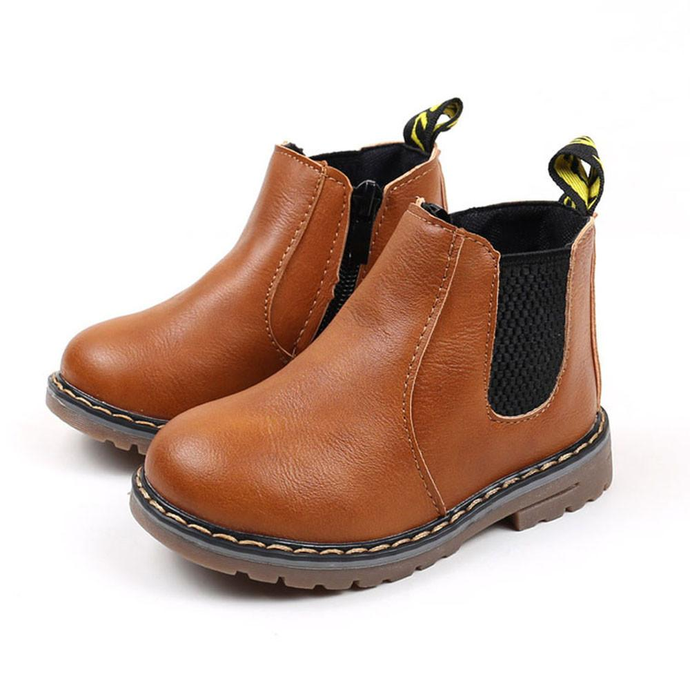 Children Martin Handmade Leather Boots