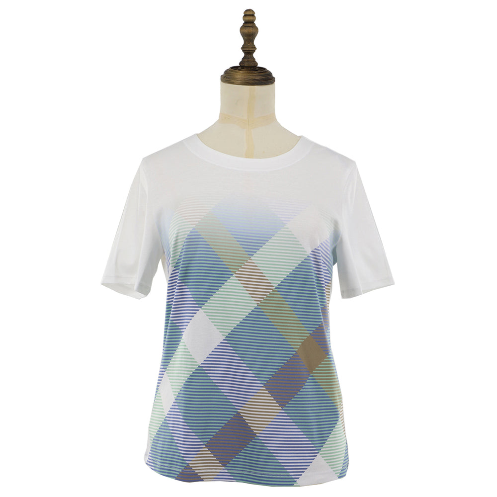 Women's House Check short sleeve tee