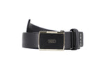 Leather Belt with DAKS Logo