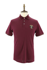 Men's Cotton Knit Polo Shirt