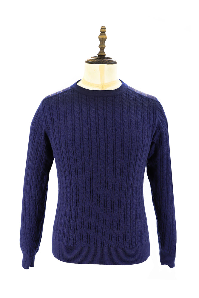 Men's Cashmere Knit Sweater