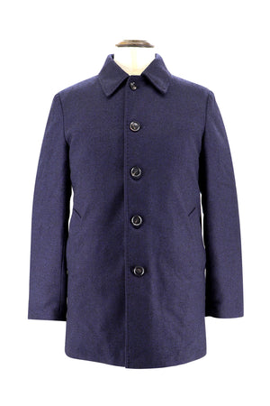 Men's Herringbone Down Coat