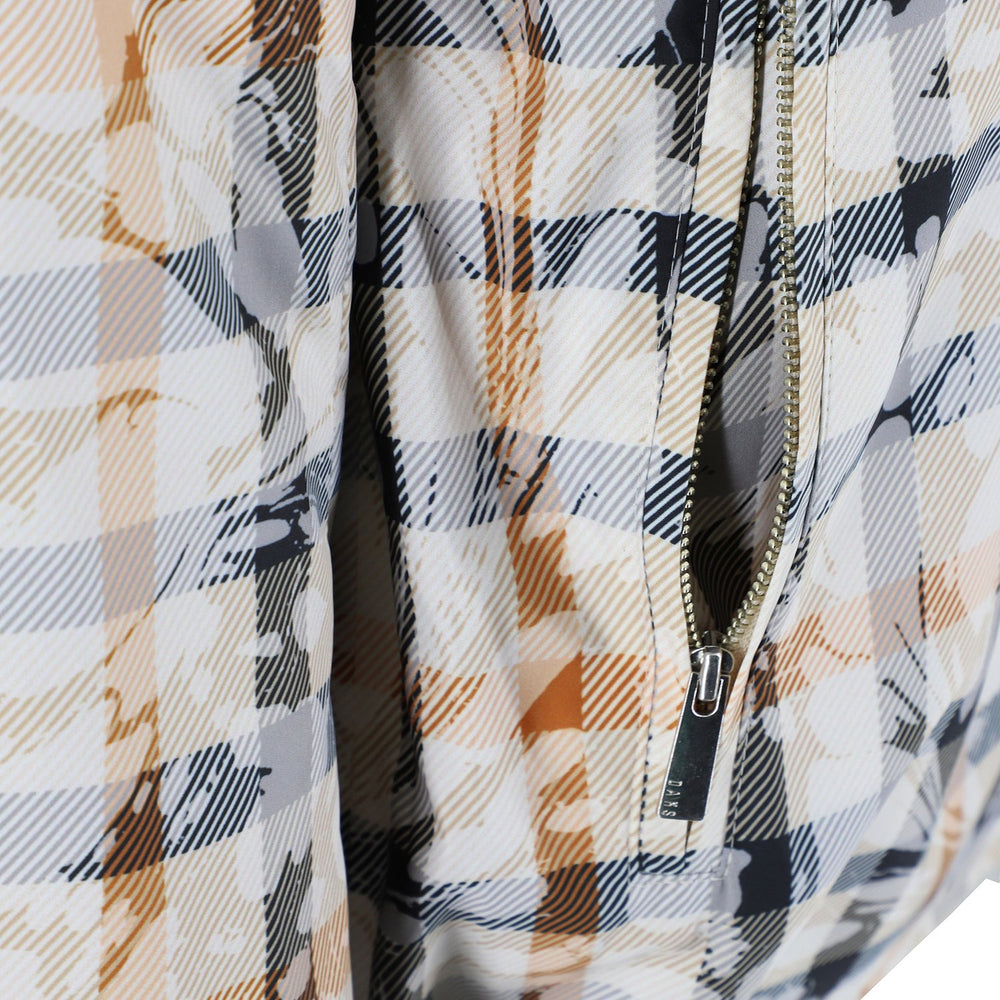 Womens Marble Check Blouson Ladies