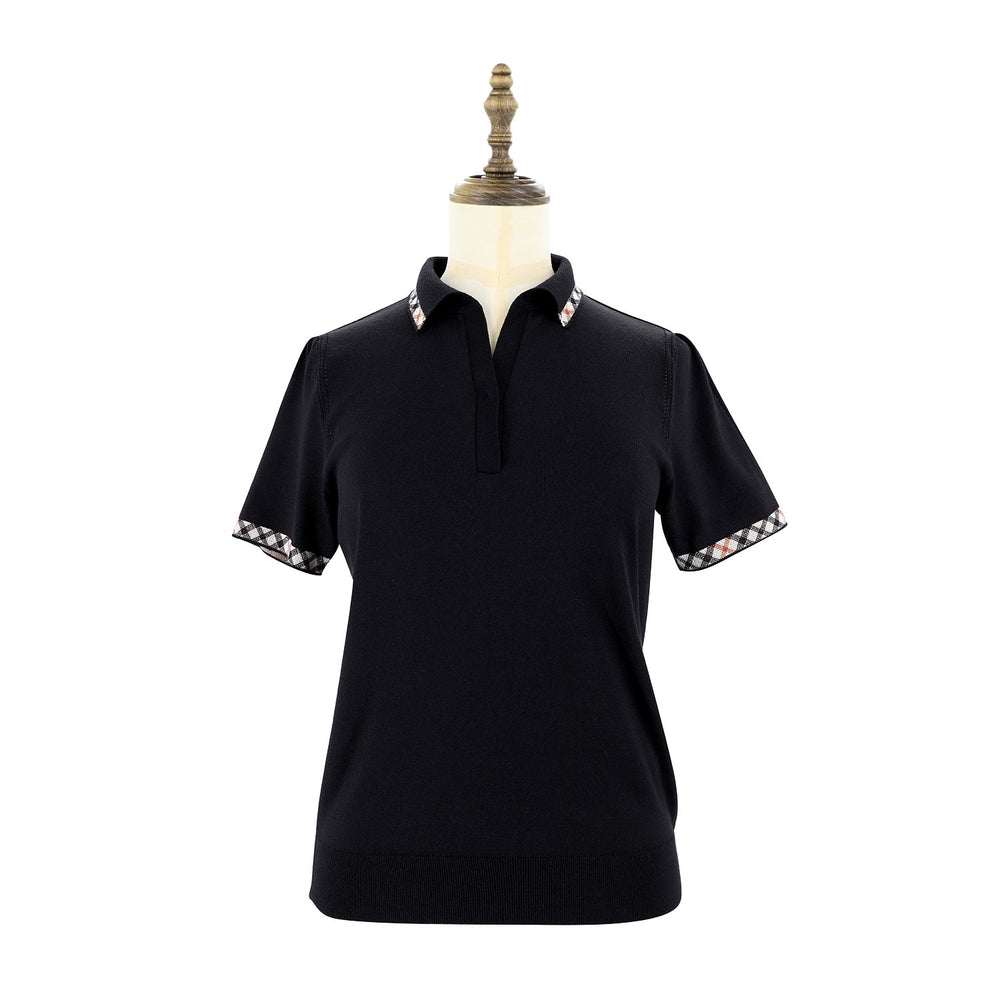 Women's Knit Polo Shirt