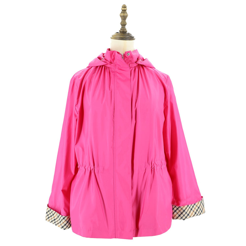 Womens Woven Blouson 38 / Pink Ladies