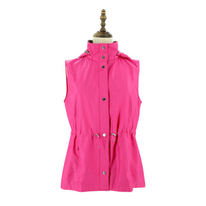Womens Woven Vest 38 / Pink Ladies