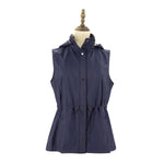 Womens Woven Vest Ladies