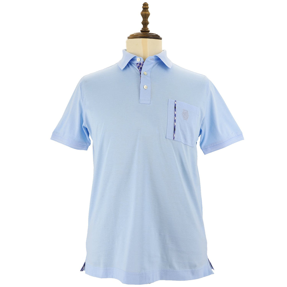 Mens Cotton Knit Polo