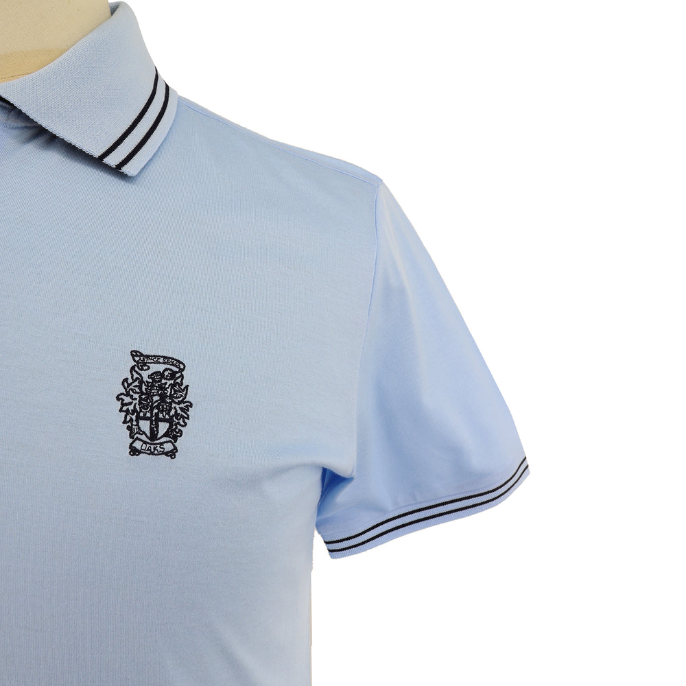 Men's Coat of Arms embroidery polo shirt