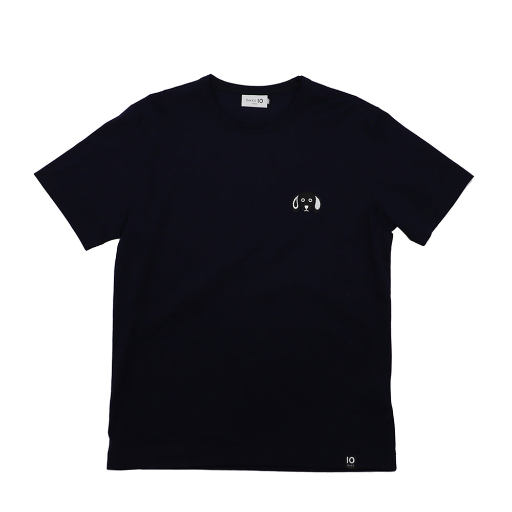 DAKS 10 Logo Cotton Tee