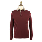 Men's Wool Knit Polo Sweater