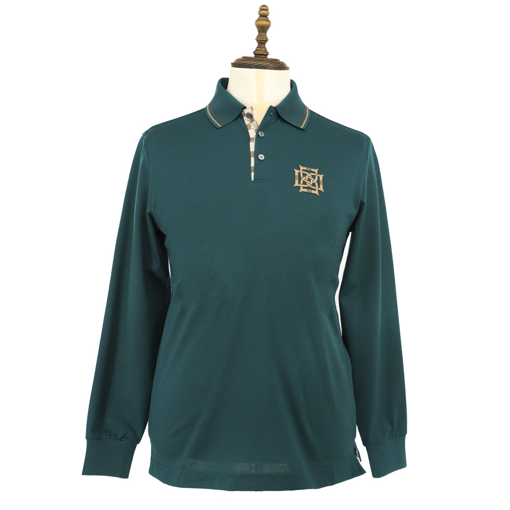 Men's Cotton Polo With 4D Logo