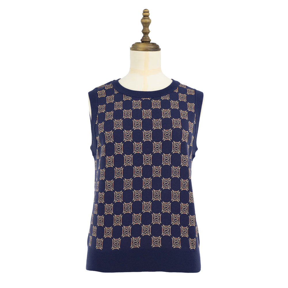 Women's DAKS Logo Cotton Vest