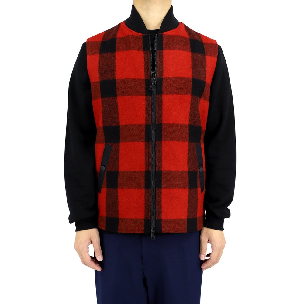 DAKS 10 British Check Vest