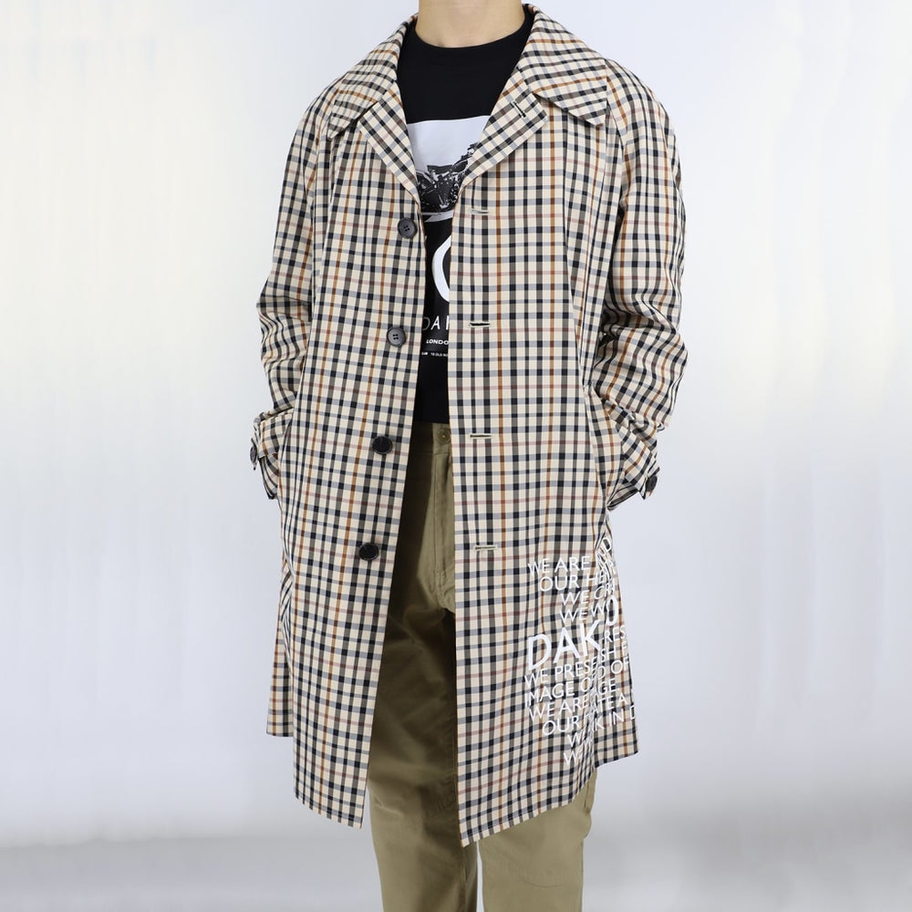 DAKS 10 House Check Coat