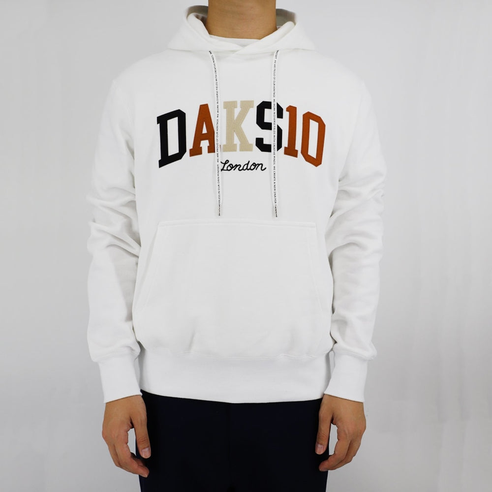 Daks 10 Logo Hoodies Mens