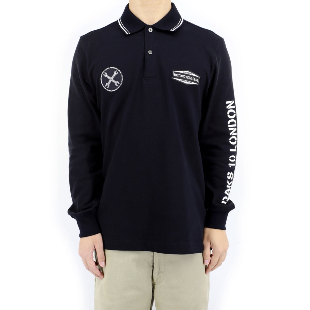 DAKS 10 Long Sleeve Polo Shirt