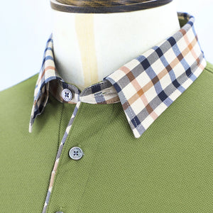 Mens Knit Polo