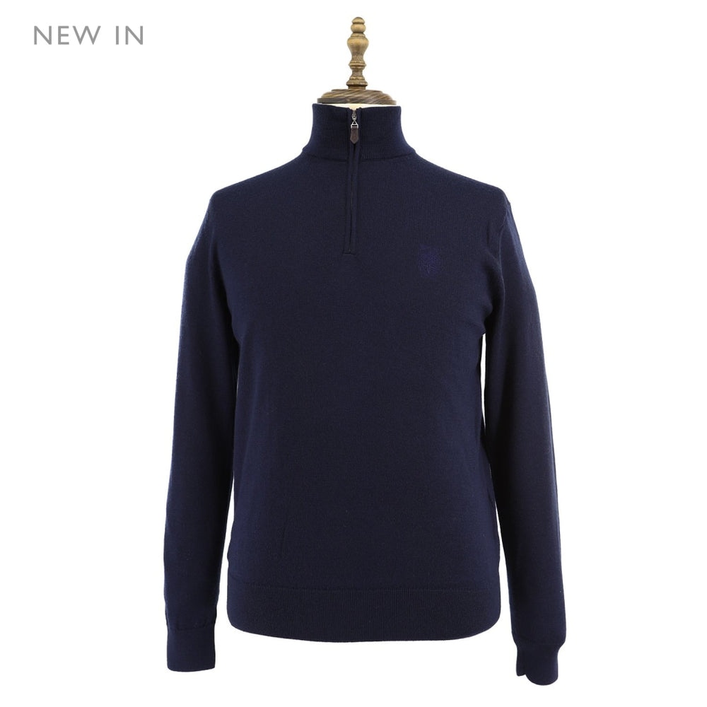 Mens Wool Sweater 48 / Navy Ladies