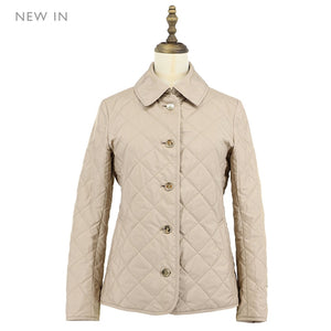 Womens Polyester Woven Blouson 38 / Beige Ladies