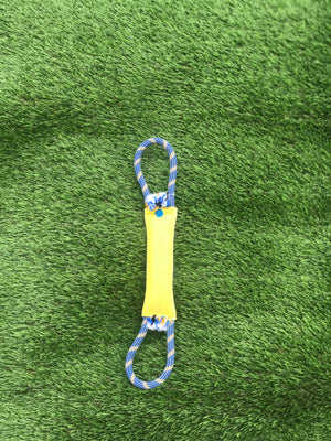 "1.5"" x 10"" single jacket Firehose Tug with double rope Loop handle"