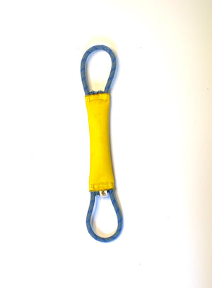 "1.5""x10"" double rope looped tug"