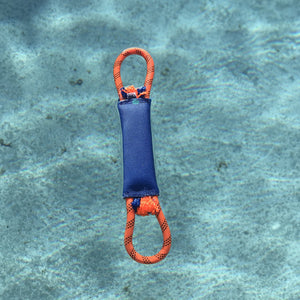 1.75 double jacket fire hose with double rope handles. Floats