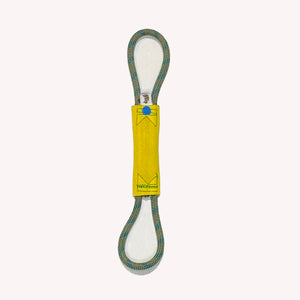 "1""x5"" new single jacket hose with looped rope double handles"