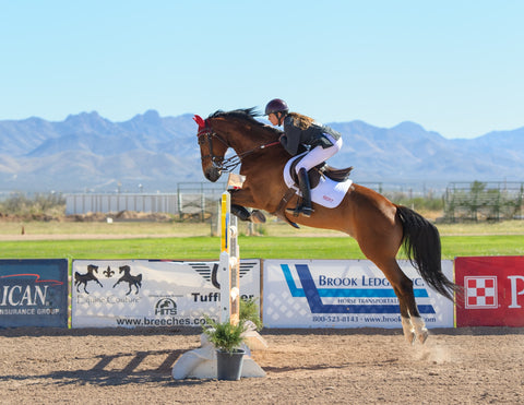 Shot covering the HITS Winter Classic in Tucson, AZ in 2015. Horse show jumping