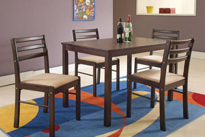 00880 - Parkwood Dining Table with 4 Chairs